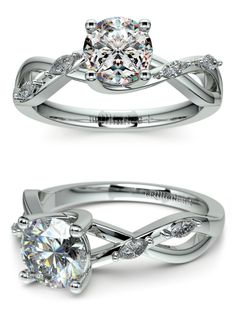 Beautiful Florida Ivy Diamond Engagement Ring with stunning marquise cut diamonds! Would you wear it?