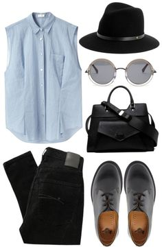 """blu, gry, blck"" by livyyrosee on Polyvore"