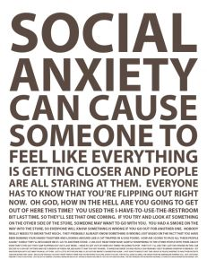 Image result for causes of social anxiety
