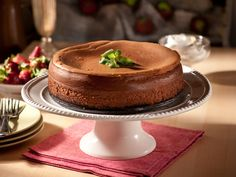 New York Style Chocolate Cheesecake Recipe