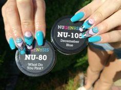 Blue nails NUGENESIS