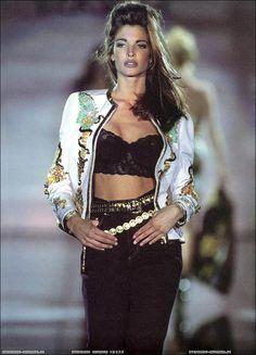 Stephanie for Gianni Versace, 1992.