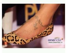The tattoo of Deepika Padukone