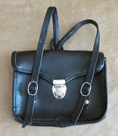 Kit's School Book bag black satchel American Girl Doll kit #AmericanGirl #Accessories