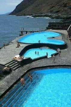 Piscina artificial en la Isla del Hierro Islas Canariad