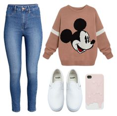"""""""I Could Just Wear This For The Rest Of My Life"""" by marsophie ❤ liked on Polyvore featuring Vans and H&M"""
