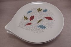 Vintage Hall Hallcraft CENTURY FERN Dinner Plates - Set of Four - Eva Zeisel & Vintage Hall Hallcraft FANTASY Salt u0026 Pepper Shakers - Eva Zeisel ...