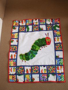 very hungry caterpillar quilt | Hungry caterpillar, Patterns and ... : caterpillar quilt pattern - Adamdwight.com