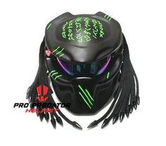 Custom Predator Motorcycle Dot Motorcycle Helmet