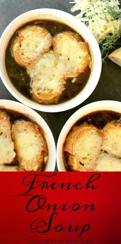 Authentic French onion deep flavor comes through in this soup. Easy instructions, you don't need another recipe. Best French Onion Soup, Crockpot French Onion Soup, Sopa No Pao, Onion Soup Recipes, Onion Soups, Recipes Using Beef Broth, Best Soup Recipes, Fall Recipes, French Food