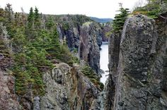 The beautiful km Skerwink Trail located near Trinity, Newfoundland is one of the best in the province for rugged coastal scenery including sea stacks. Smile Pictures, East Coast Travel, Atlantic Canada, Visit Canada, Prince Edward Island, Canada Travel, Cool Places To Visit, Trail, Scenery