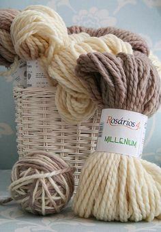 Pure wool yarn...image for you, Glenn