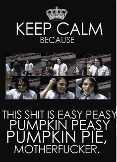 Some great advice from gerard way...