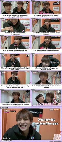 V's smile in the last frame is the best thing I have ever seen. And I mean the Best :)