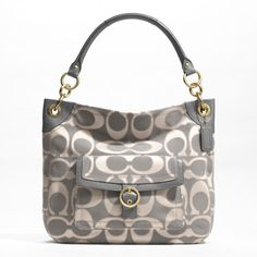 Coach PENELOPE OUTLINE SIGNATURE BUCKLE HOBO