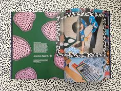 exclusive Nathalie du Pasquier / American Apparel collaboration!