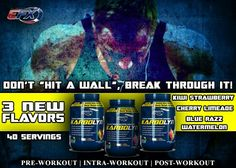 Don't let a wall stop you, break through it and conquer your goals!  www.aaefx.com