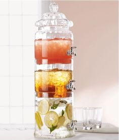 Stacked Beverage Server