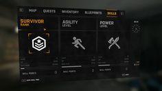 Co-Optimus - Review - Dying Light Co-Op Review Web Design, Game Ui Design, Gui Interface, Interface Design, Fluent Design, Car Ui, Adobe Photoshop, Game Gui, Rhythm Games