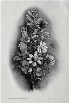 Find artworks by Ludmila Jiřincová (Czech, 1912 - on MutualArt and find more works from galleries, museums and auction houses worldwide. Artworks, Illustrations, Tattoos, Artist, Flowers, Fields, Tatuajes, Illustration, Tattoo
