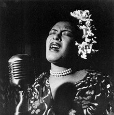 """""""If you copy, it means you're working without any real feeling. No two people on earth are alike, and it's got to be that way in music or it isn't music."""" billie holiday"""