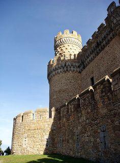 Castillo de  Manzanares la Real  Madrid