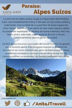 #SalíYViajá con nosotros, no te podés perder de conocer los Alpes Suizos, un paraíso de #AJTravel para vos...
