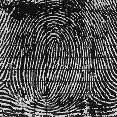 Fingerprint Series - Barbara W. Watler Textile Art