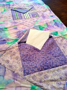 Envelope Quilt by KellarGirlCreations on Etsy, $40.00