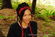 Hippie Headband OOAK Festival Clothing by IntergalacticApparel
