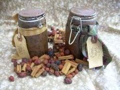 How to Make Primitive Grungy Jars