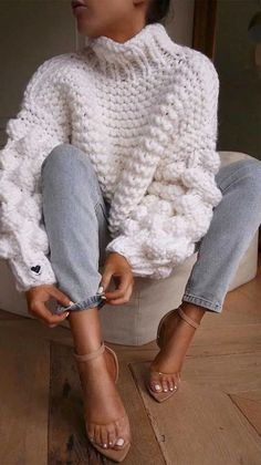 Thanksgiving Outfit Ideas 2020 Collection hkeln sie pullover 2019 thanksgiving outfit ideas in 2020 Thanksgiving Outfit Ideas Here is Thanksgiving Outfit Ideas 2020 Collection for you. Thanksgiving Outfit Ideas 2020 8 easy thanksgiving outfit i. Mode Outfits, Fall Outfits, Fashion Outfits, Knit Fashion, Stylish Outfits, Fashion Fashion, Fashion Women, Fashion Trends, Thanksgiving Outfit