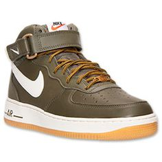 <p>Much like other Nike footwear icons, Air Force 1 has gained popularity not only with b-ball enthusiasts, but also indie trendsetters and fashion-seekers. And these Nike Air Force 1 Mid Men's Basketball Shoes are a winning example. Just slip your feet into these bad boys to experience the superior comfort for yourself.</p><p>  A smooth leather upper hosts these shoes' action-packed design, while making them super durable, easy to clean, and bendable, too. Nike's revolutionary Air-Sole…