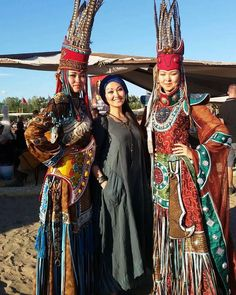 Tuvan girls