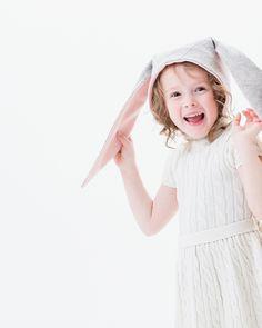 Little Goodall Snowshoe Rabbit Bunny Hat SO CUTE!!!