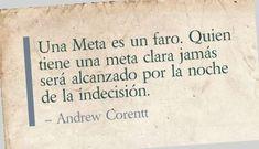 Frases de Metas - Andrew Corentt