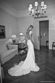 Alessandra Rinaudo 2017 Wedding Dresses for Beach Country Rustic Bohemian Greek Goddess Style Brides Formal Church Wear Beaded Bridal Gowns