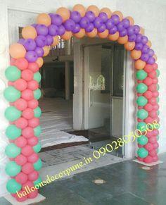 Balloons Arch Balloon Gate, Ballon Arch, Balloon Decorations, Bliss, Balloons, Birthdays, Bubbles, Garland, Modeling