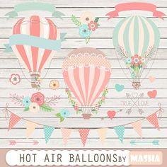hot air balloon drawing - Buscar con Google