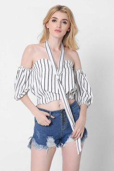 Ellady Dare To Be Off The Shoulder Top