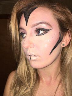 Alien makeup by MADI. Instagram: memyselfandmadi_
