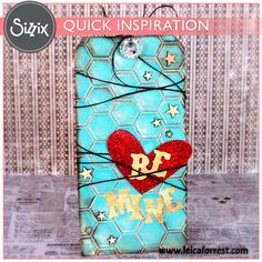 Sizzix Inspiration | Be Mine Tag by Leica Forrest