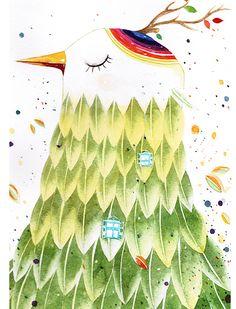 ilustración de Xiao Ci Wei