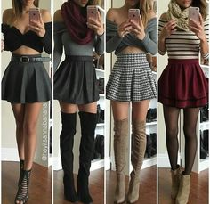 Outfit Trends Today For You ! Teen Fashion Outfits, Woman Outfits, Mode Outfits, Cute Fashion, Fashion Clothes, Dress Outfits, Fall Outfits, Girl Fashion, Summer Outfits