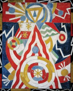 Marsden Hartley (USA 1877–1943)Pre‑War Pageant (1913) oil on canvas, 100.3 x 81 cm