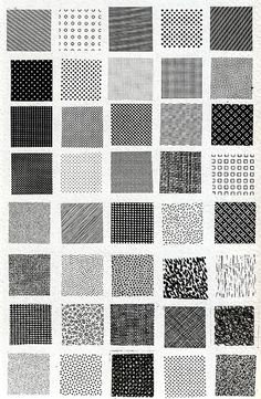 Saved by Sara Andreasson (kitzekatze). Discover more of the best Pattern, Bruno, Munari, Esempi, and Di inspiration on Designspiration Motifs Textiles, Textile Patterns, Color Patterns, Print Patterns, White Patterns, Pattern Texture, Pattern Art, Pattern Design, Geometry Pattern