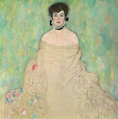 Gustav Klimt - Amalie Zuckerkandl 1918 (unfinished) (by deflam, via Flickr)