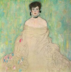 Gustav Klimt - Amalie Zuckerkandl 1918 (unfinished) (by deflam, via Flickr)