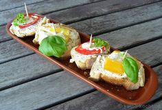 Tapas-Schnittchen mit gefüllter Paprika - katha-kocht!
