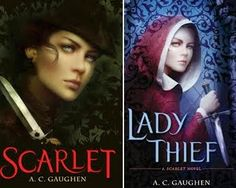 Scarlet series (books 1 and 2) by A. C. Gaughen